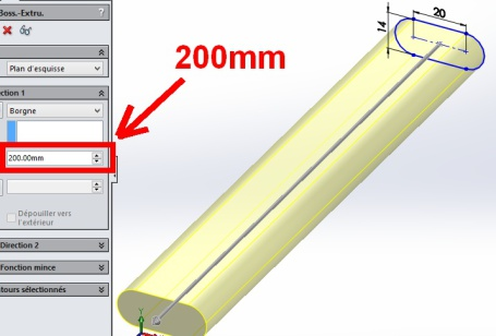 extrusion-manche-200mm