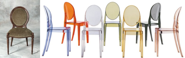 La Chaise Louis Ghost De Philippe Starck Technologie Melh