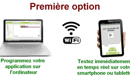 Tester une application Appinventor